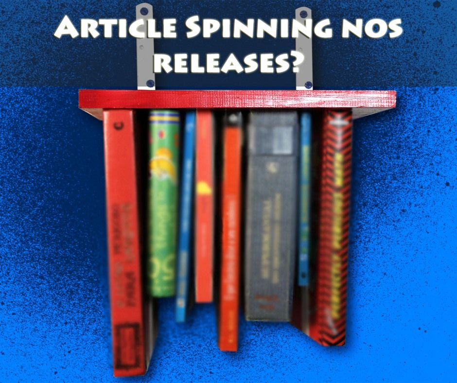 article spinning para releases